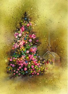 Love beautiful Christmas cards ~