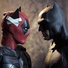 Esas son mis orejas Deadpool - No yo soy BATMAN. ...
