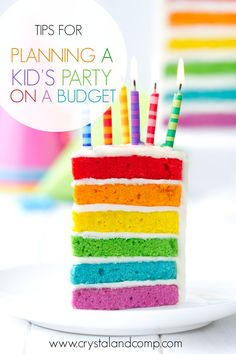 If you're like a lot of party-lovin' moms, you practically drool over fabulous pictures of designer birthday celebrations with gorgeous fondant cakes that START at one hundred dollars…and then real...
