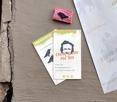 Edgar Allan Poe Boy, Sandwich Shop - Packaging Designs by Parker Jones