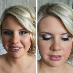 Bridal makeup. Wedding makeup. Classic eye technique. MAC cosmetics used.  Pink lips. Dallas bride. Dallas makeup artist. Makeup by Wendy Zerrudo