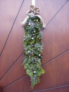 kerstguirlande Om, Christmas Wreaths, Holiday Decor, Winter, Flowers, Pictures, Garland, Photograph Album, Christmas