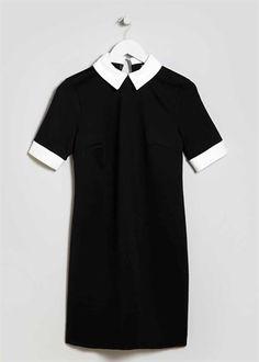 Matalan Collar Detail Shift Dress.