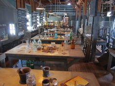 A glimpse into the Thomas Edison Lab at his Winter Estate in Fort Myers, Florida