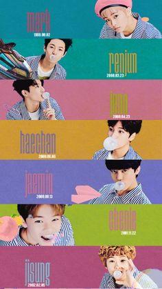 Vai dar amor pra esses bolinhos a.a NCT Dream - Mark - Ren Jun - Jeno - HaeChan - JaeMin - ChenLe - JiSung Nct Dream Chewing Gum, Taeyong, Nct 127, Winwin, Jaehyun, K Pop, Monsta X, Shinee, Korea