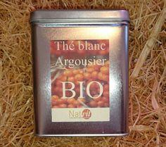 Thé blanc à l'argousier bio 50g