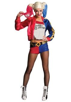 Halloween Costumes: Licensed Suicide Squads Harley Quinn Adult Womens Halloween Costume Medium BUY IT NOW ONLY: $61.85