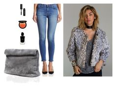 """""""Your Ideal Skinny Jeans 4"""" by couturecandy ❤ liked on Polyvore featuring Bobbi Brown Cosmetics and Giorgio Armani"""