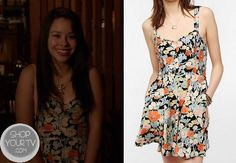 Shop Your Tv: The Fosters: Season 1 Episode 5 Mariana's Floral Dress