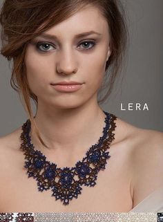 Lorina (Paris) Frivolite' Jewellery. Available in the UK & Ireland from Leoro. info@leoro.co.uk