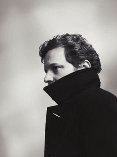 Colin Firth http://www.amazon.com/The-Reverse-Commute-ebook/dp/B009V544VQ/ref=tmm_kin_title_0