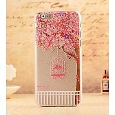 Fairy Tale Bird Cage Style Plastic Hard Back Cover for iPhon... – EUR € 2.84