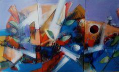 """ecibimos con el mayor de los orgullos!!!, obra de arte del artista plastico Jesús Ovalles, título:""""Reminiscencias del Mar"""", medidas 200x100cms, año 2015,""""#arte #ArtePuro #jesus #talentovenezoñano #talentoanzoatiguense #Galeria #BahiaRedondaGallery #local26 #Anzoategui #Marinainternacionalbahiaredonda #Miami #EEUU #talentodeexportacion #Panama #republicadominicana #Colombia , contacto: brgalery@hotmail.com whatsapp 04269853287"""