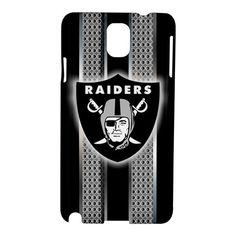 New Oakland Raiders Design Metal Cool Samsung Galaxy Note 3 III Case Cover