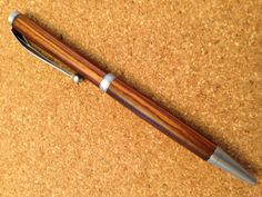 Cocobolo wood ballpoint pen by SPWoodArt on Etsy, $20.00