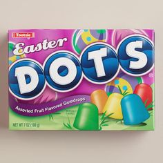 One of my favorite discoveries at WorldMarket.com: Tootsie Easter Dots