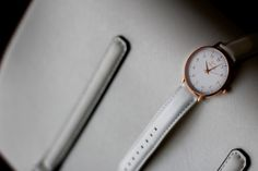 316l Stainless Steel, Pure White, Cowhide Leather, Shots, Rose Gold, In This Moment, Pure Products, Watches, Crystals