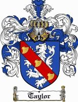 Taylor Coat of Arms / Taylor Family Crest gifts at www.4crests.com