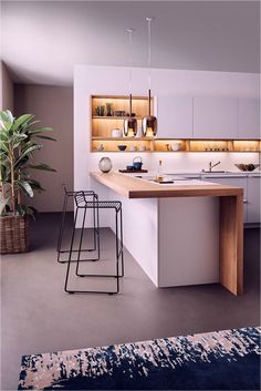 Supreme Kitchen Remodeling Choosing Your New Kitchen Countertops Ideas. Mind Blowing Kitchen Remodeling Choosing Your New Kitchen Countertops Ideas. Best Kitchen Designs, Modern Kitchen Design, Interior Design Kitchen, Interior Design Ideas For Small Spaces, Modern Interior, Modern Design, Church Interior, Interior Colors, Interior Ideas