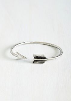 Aim for Adorable Bracelet - Solid, Boho, Minimal, Festival, Silver, As You Wish Sale, Top Rated