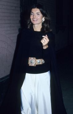 Jackie Kennedy Onassis #fashion #styleicons #style