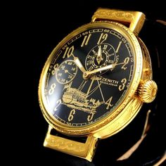 more photos 84cff 82420 I proudly offer for sale this REGULATEUR timepiece example a NOBLE DESIGN  WATCH with GOLD amp