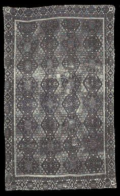 Bardini Museum, Florence. 'Damascus' Compartment rug, late 16th/early17th century.