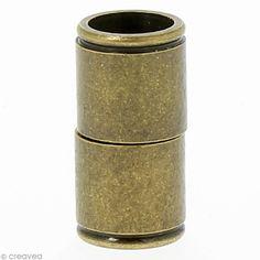Compra nuestros productos a precios mini Cierre imantado tubo 15 x 6 mm - Bronce - 6 uds - Entrega rápida, gratuita a partir de 89 € !