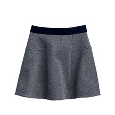 It doesn't get much easier (or more comfortable) than a pull-on skirt made from soft fleece. She'll love the cool-girl shimmer, you'll love that she's out the door in 10 minutes or less. <ul><li>Fluted skirt.</li><li>Falls above knee.</li><li>Elastic waistband.</li><li>Import.</li></ul>