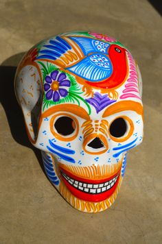 1 head of Day of the Dead by CasaMexico on Etsy