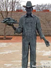 Lubbock, Texas: Stubb Bar-B-Q Memorial