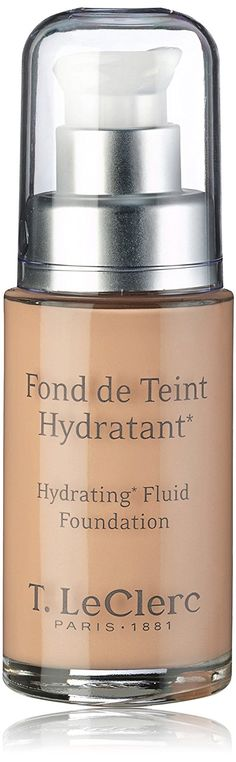 T. LeClerc Hydrating Fluid Foundation SPF 20 -  02 Clair Rose 30ml/1oz -- For more information, visit image link. (Amazon affiliate link)