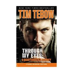 Through My Eyes: A Quarterback's Journey, Young Readers Edition by Tim Tebow (CD-Audio, for sale online Tim Tebow Wife, Tim Tebow Girlfriend, But Football, College Football, Football Field, Tim Tebow Haircut, Tim Tebow Quotes, Family Values, Book Nooks