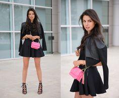 Cameo Skirt, Isa Tapia Heels, Bebe Bag, Robert Rodriguez Jacket