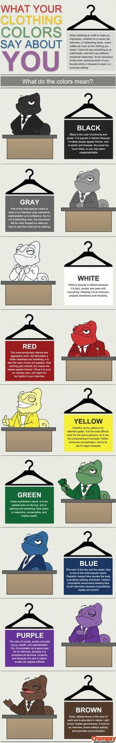 LOL What colors say about you