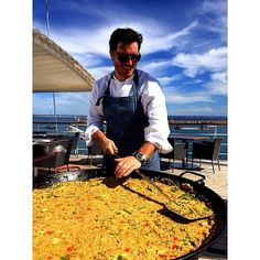 """Chef Mullen is an award winning New York chef, restaurateur and cookbook author known for his inventive yet approachable modern Spanish cuisine.  He shares his recipe for Paella.  #WindstarCruises."" - @Saveur #Cruise #Foodie"
