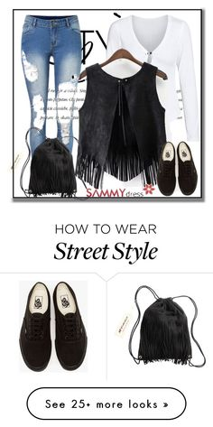 """""""Sammydress IV-25"""" by azra-90 on Polyvore featuring Vans and H&M"""