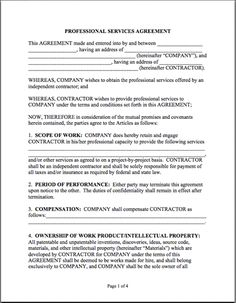 Printable Sample Letter of Agreement Form   Laywers Template Forms ...