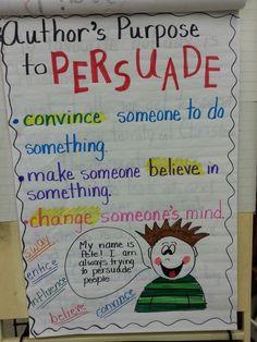 persuasive writing grade 1/2 - Google Search