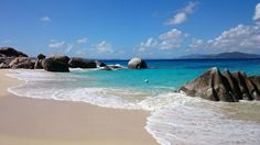 Valley Trunk Bay on Virgin Gorda in the British Virgin Islands #BVIs