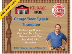 Professional Garage Door Repair Service in Brampton