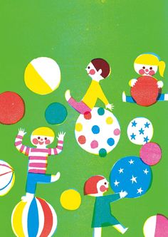 by Kazuaki Yamauchi Japan Illustration, People Illustration, Character Illustration, Graphic Illustration, Pattern Illustration, Book Design, Design Art, Illustrations And Posters, Print Patterns