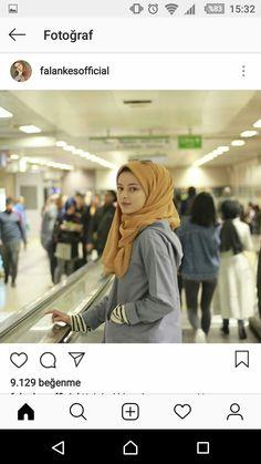 Modest Fashion Hijab, Hijab Chic, Abaya Fashion, Fashion Outfits, Muslim Girls, Muslim Women, Hijab Dpz, Modern Hijab, Hijabi Girl