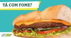 A fome chegou?  Então manda um Steak Cheddar Cremoso do Subway pelo Fome Demais!  #fomedemais #delivery #subway