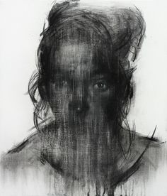 [113] untitled charcoal & conte on canvas 53.2 x 45.6 cm 2013
