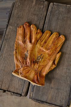 Riding Gloves Brown. Look great and CHEAP!