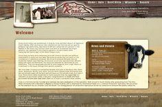 natural, rustic, cattle, western, website design, wood, brown, full image background