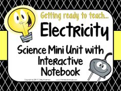 Electricity is SUCH a fun unit to teach $