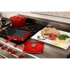 Enamel cast iron = comfort food. Great holiday gift for every cook.
