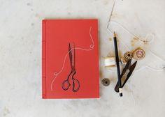 Handmade Embroidered Notebooks